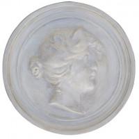 Medallón Romano Mujer