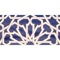 Azulejo Árabe relieve MZ-040-41
