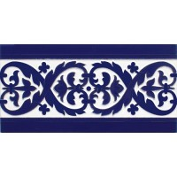 Azulejo Sevillano relieve MZ-026-41