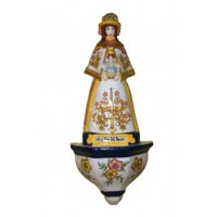 Virgen Rocío con aplique