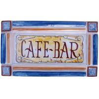 Placa rústica CAFÉ-BAR