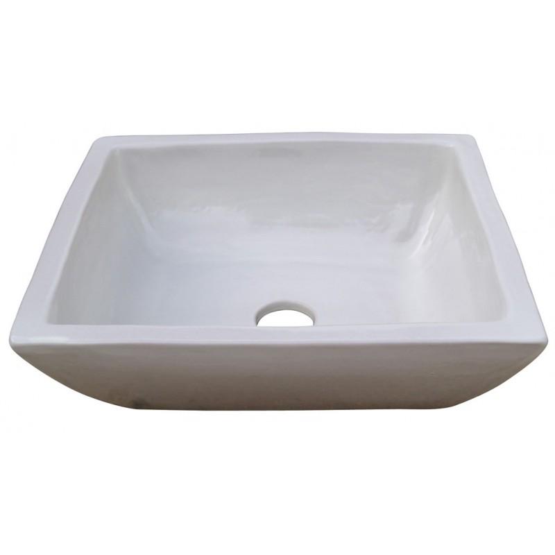 Lavabo rectangular azulejos for Accesorios lavabo
