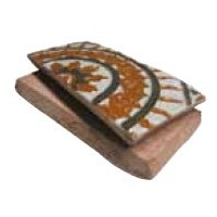 Loza rectangular de arista