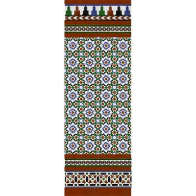 Mosaico Árabe colores MZ-M013-00