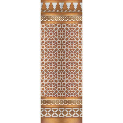 Mosaico Árabe cobre MZ-M006-91