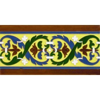 Azulejo Sevillano relieve MZ-026-03