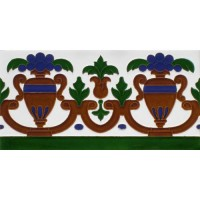 Azulejo Sevillano relieve MZ-027-00