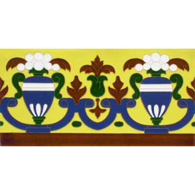 Azulejo Sevillano relieve MZ-027-03