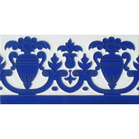 Azulejo Sevillano relieve MZ-027-41