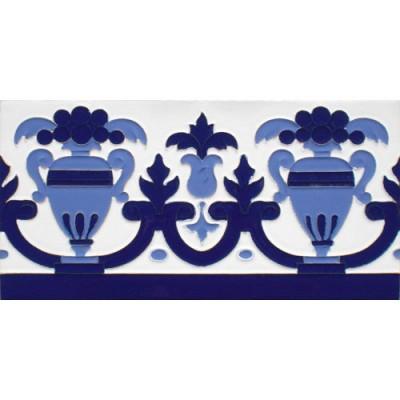 Azulejo Sevillano relieve MZ-027-441