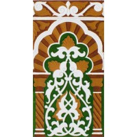 Azulejo Sevillano relieve MZ-030-01