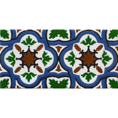 Azulejo Sevillano relieve MZ-031-00