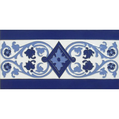 Azulejo Sevillano relieve MZ-034-441