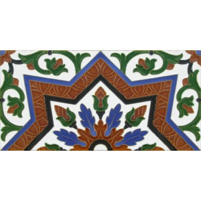 Azulejo Sevillano relieve MZ-038-00