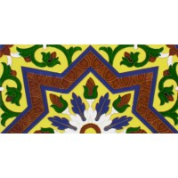 Azulejo Sevillano relieve MZ-038-03