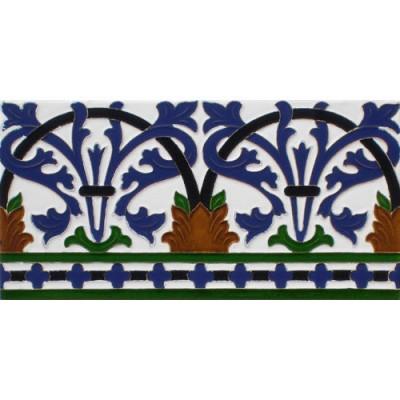 Azulejo Sevillano relieve MZ-042-00