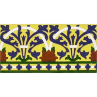Azulejo Sevillano relieve MZ-042-03