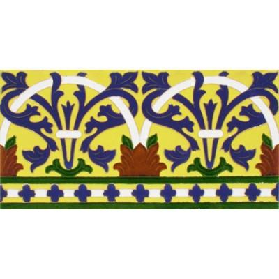 Azulejo Sevillano relieve MZ-042-03