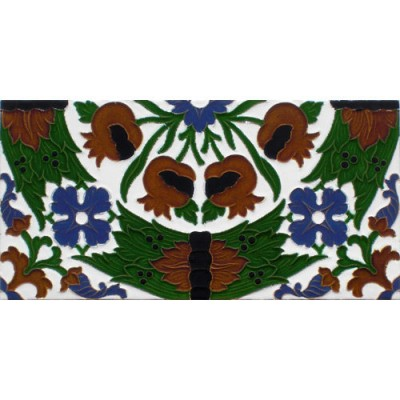Azulejo Sevillano relieve MZ-049-00