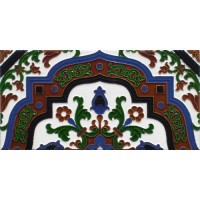 Azulejo Sevillano relieve MZ-050-00