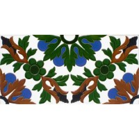 Azulejo Sevillano relieve MZ-052-00