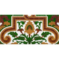 Azulejo Sevillano relieve MZ-053-01A