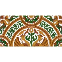 Azulejo Sevillano relieve MZ-054-01A