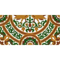 Azulejo Sevillano relieve MZ-054-01B