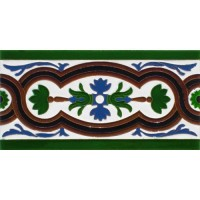 Azulejo Sevillano relieve MZ-056-00