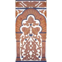 Azulejo Sevillano relieve MZ-030-941