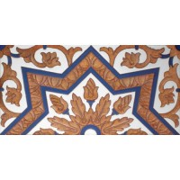 Azulejo Sevillano relieve MZ-038-941