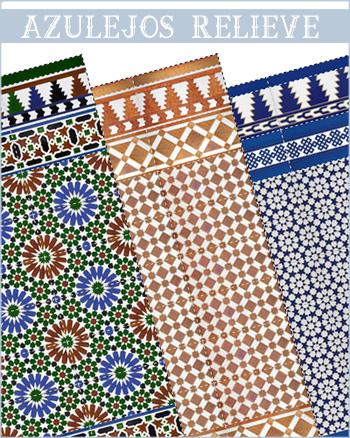 Configurador de azulejos en relieve